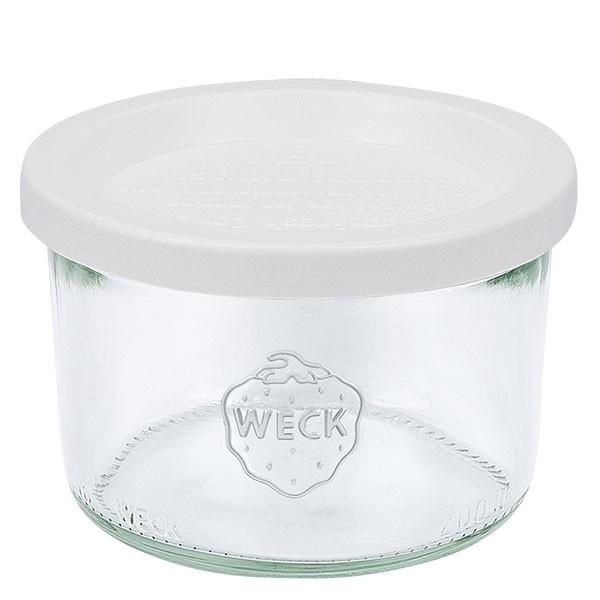 WECK-stortglas 200ml met vershouddeksels