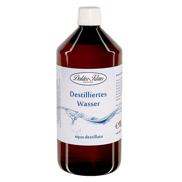 Destilliertes Wasser - Aqua dest 1 Liter