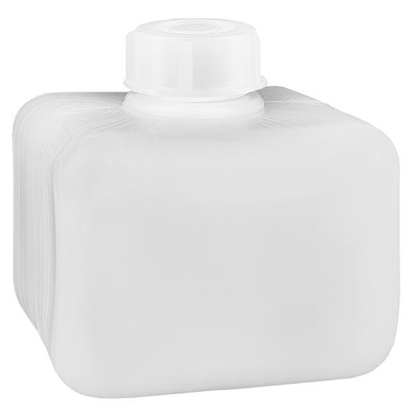 Chemicaliënfles 250 ml, nauwe hals, incl. sluiting GL 28
