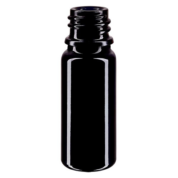 Violetglas fles 10ml DIN 18 (Mironglas)