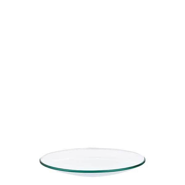 Horlogeglazen 80 mm - borosilicaatglas 3.3 - versmolten rand