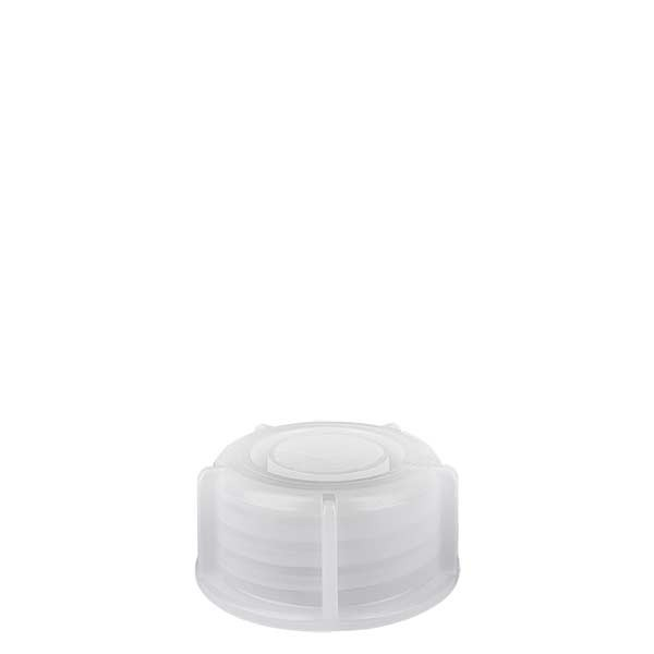 Schroefsluiting voor 10-30ml laboratoriumfles met nauwe hals