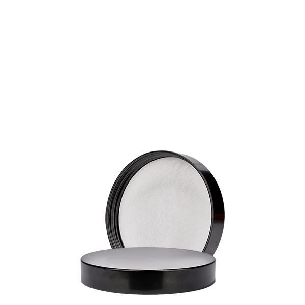 Schroefsluiting zwart bakeliet 38mm/R3