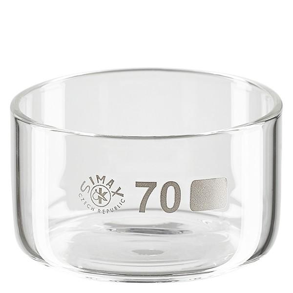 Kristallisierschale 100ml ohne Ausguss