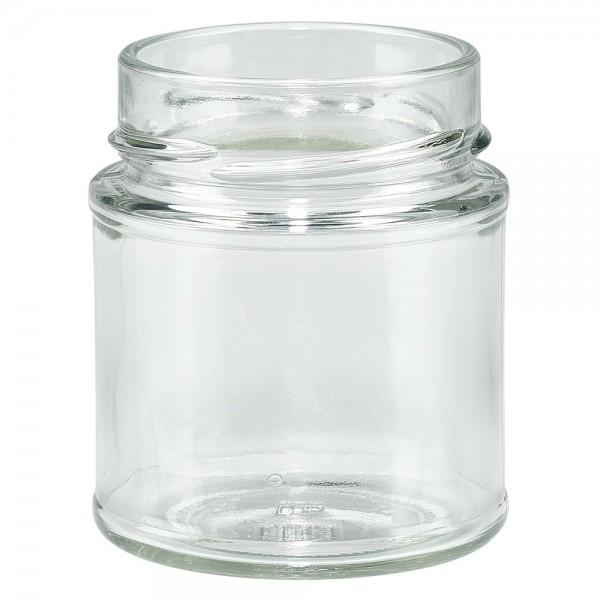 Twist-Off glazen potten lossen onderdelen 154ml ronderand glas