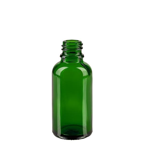 Groene glazen fles 30ml