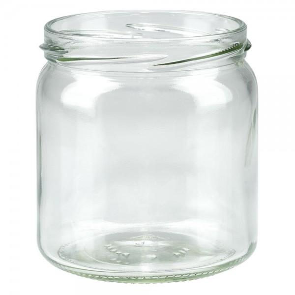 Twist-Off glazen potten lossen onderdelen 408ml ronderand glas