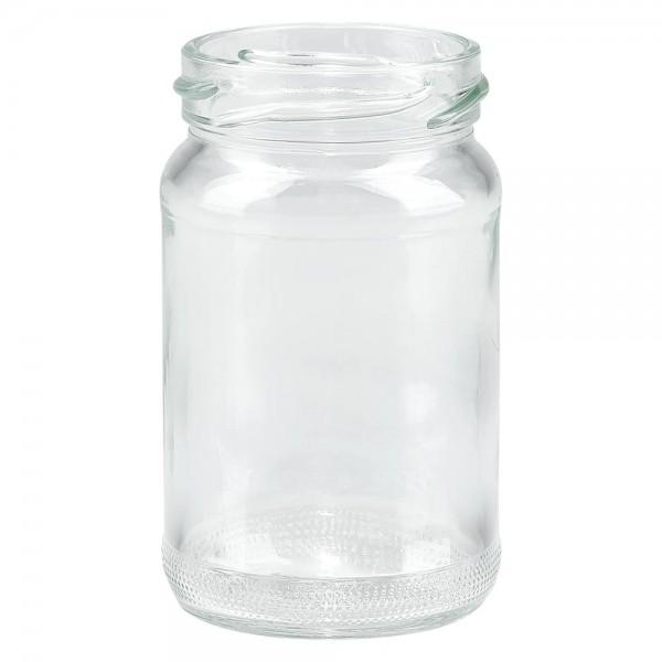 Twist-Off glazen potten lossen onderdelen 110ml ronderand glas