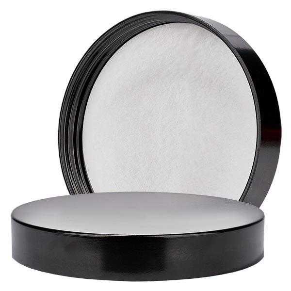 Schroefsluiting zwart bakeliet 100mm/R3