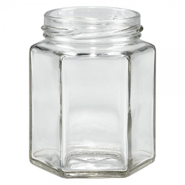 Twist-Off glazen potten lossen onderdelen 196ml 6-hoekglas
