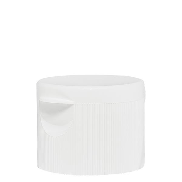 Scharniersluiting 25 mm wit PP standaard