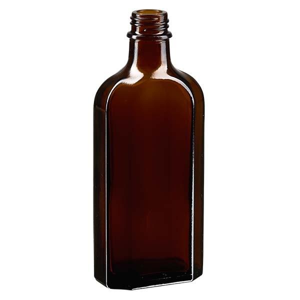 150 ml bruine meplatfles met DIN 22 monding