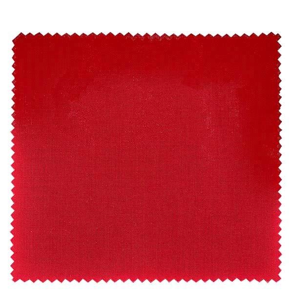 1 x stoffen lapje 150x150mm rood voor deksel diameter 43-100mm