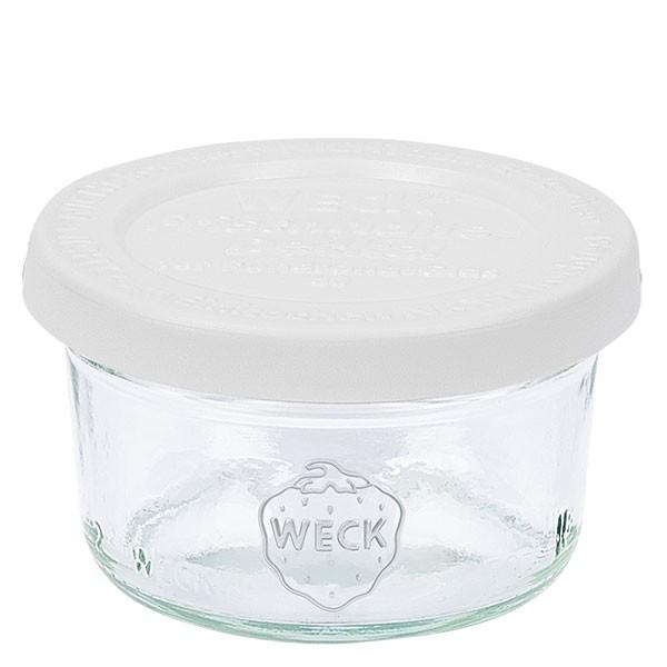 WECK-mini stortglas 50ml met vershouddeksels