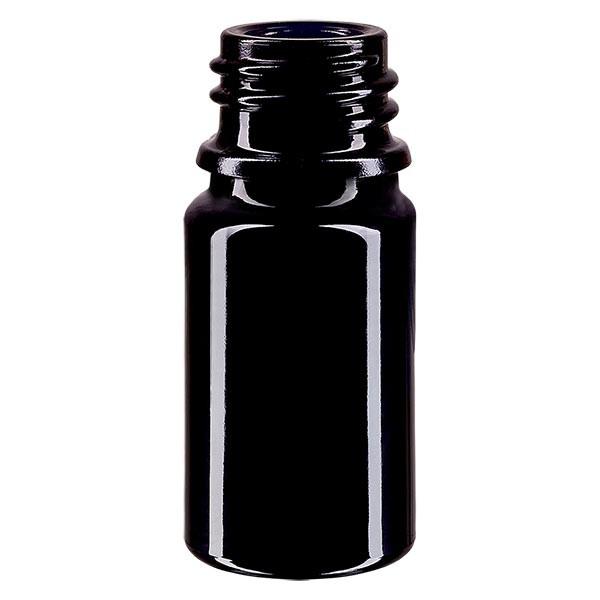 Violetglas fles 5ml DIN 18 (Mironglas)