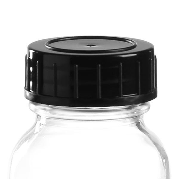 Schroefsluiting zwart van PPN 32 mm (DIN 32)