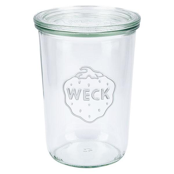 WECK-stortglas 850ml (3/4 liter) met deksel