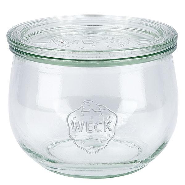 WECK-tulpglas 580ml met deksel