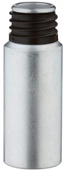 20 ml aluminium fles gebeitst zonder sluiting