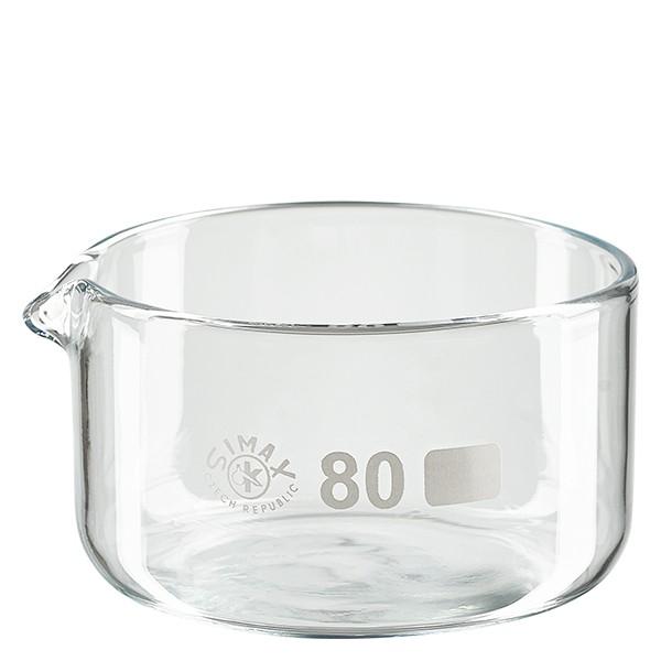 Kristalliseerschaal 150ml met schenktuit
