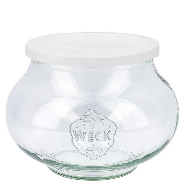 WECK-sierglas 1062ml met vershouddeksel
