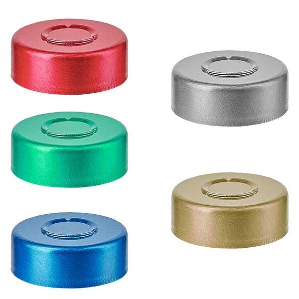 Felscapsules MIDDEN tear off 20.25 x 7.4 mm, kleur naar keuze