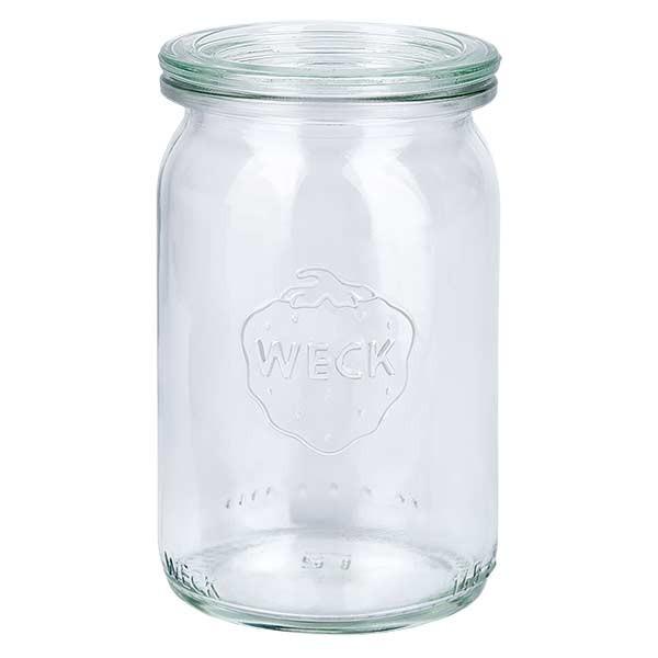 WECK-cilinderglas 145ml met deksel