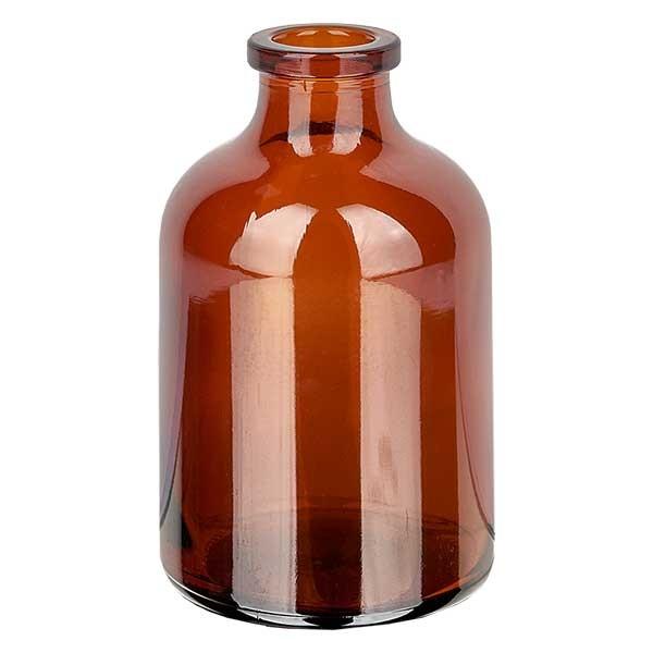 Injectiefles bruin glas 50ml