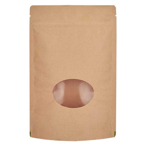 Kraftpapieren stazak bruine zak (Inhoud ca. 70g / 110x170mm)