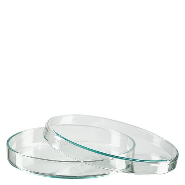 Petrischaal 100x10 mm van glas