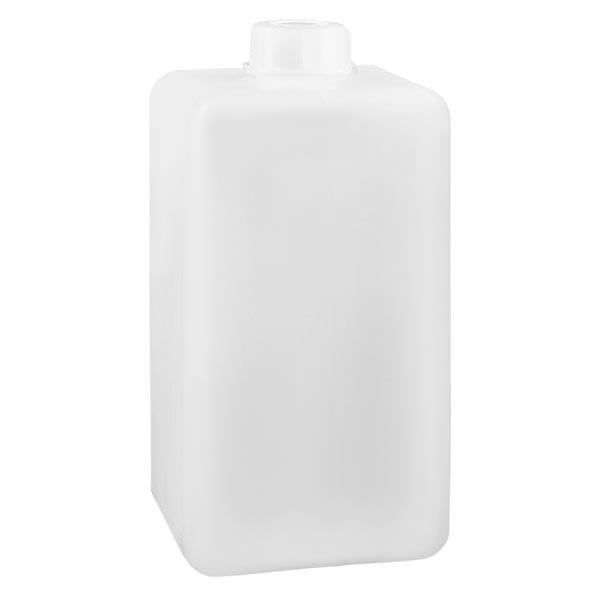 Chemicaliënfles 1500 ml, nauwe hals, incl. sluiting GL 32