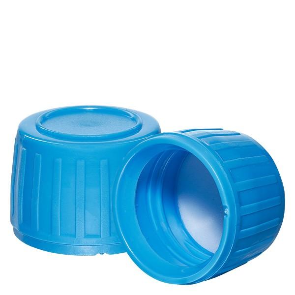 Schroefsluiting bruin 28 mm voor medicijnflessen (standaard)