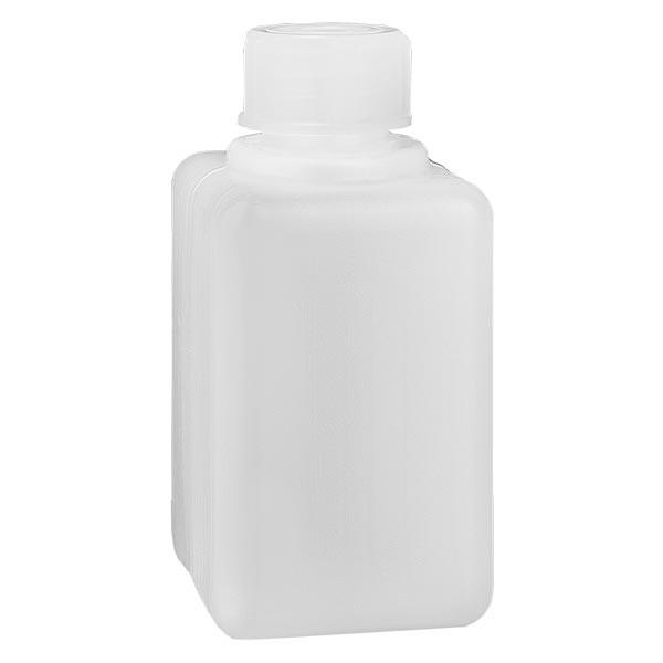Chemicaliënfles 50 ml, nauwe hals, incl. sluiting GL 18