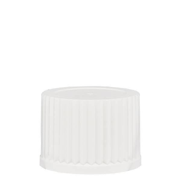 Schroefsluiting 25 mm wit PP met doseerinzet