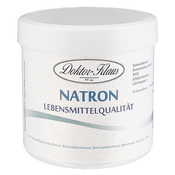 Doktor-Klaus Natron, 250g in witte pot, levensmiddelenkwaliteit
