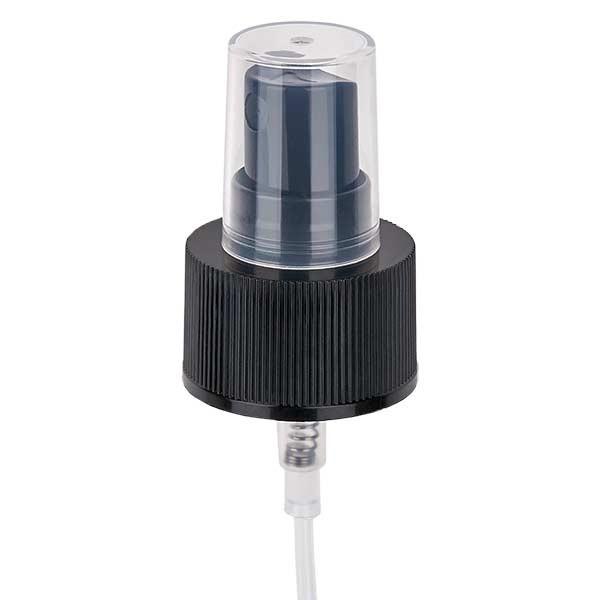 Pompverstuiver zwart GCMI 28/410 incl. dop transparant