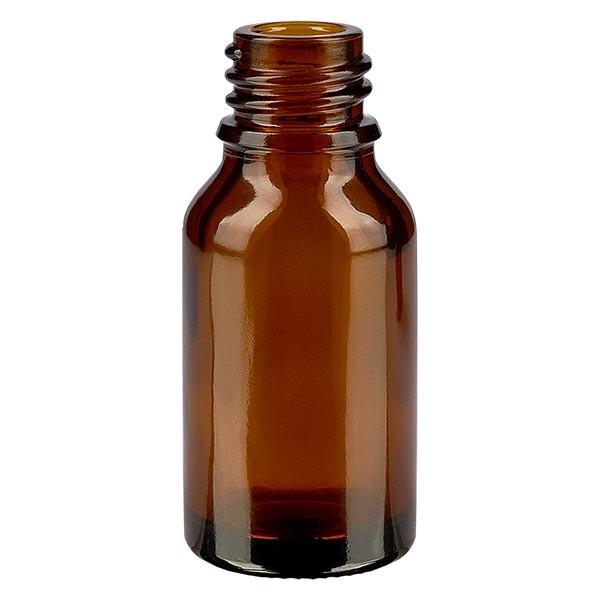 Bruine glazen fles 15ml