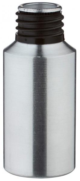 30 ml aluminium fles geslepen zonder sluiting