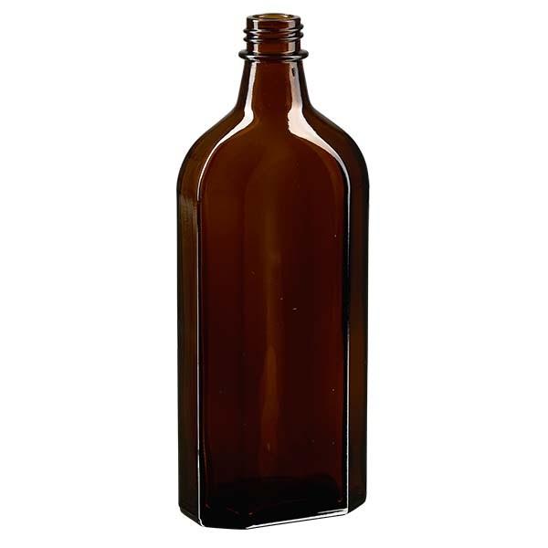 250 ml bruine meplatfles met DIN 22 monding