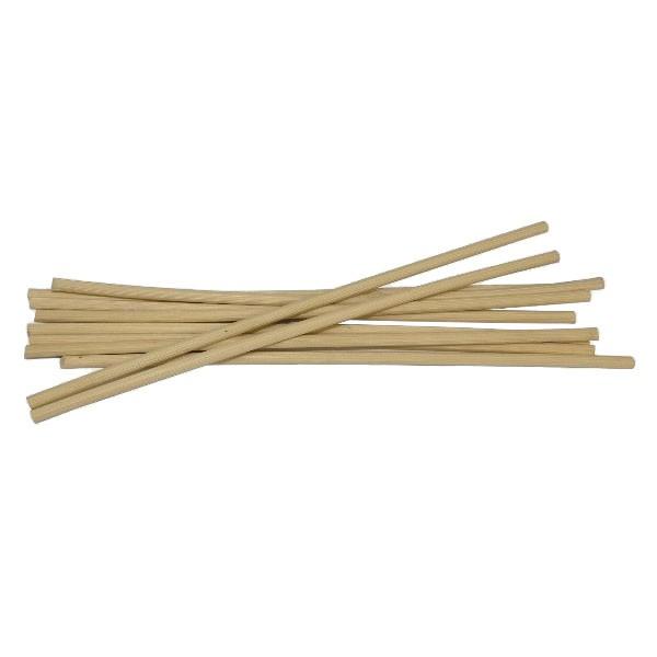 10 aroma sticks blank donker pitriet 3.5mm, 30 cm