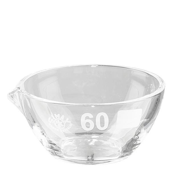 Indampschaal 45ml van borosilicaatglas met schenktuit