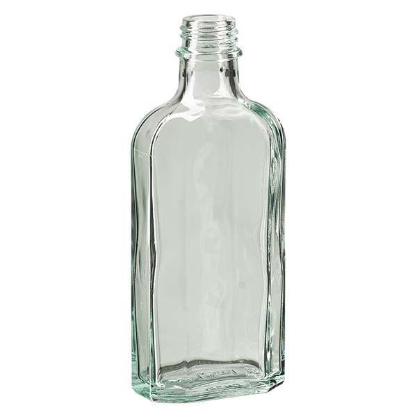 125 ml witte meplatfles met DIN 22 monding