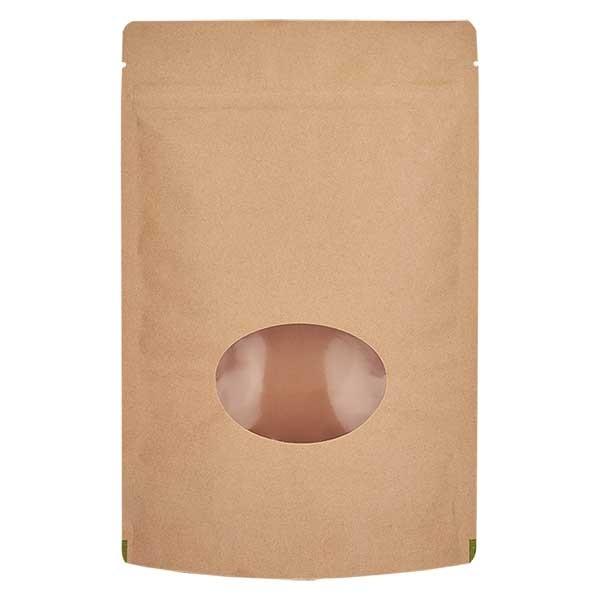 Kraftpapieren stazak bruine zak (Inhoud ca. 150g / 130x210mm)