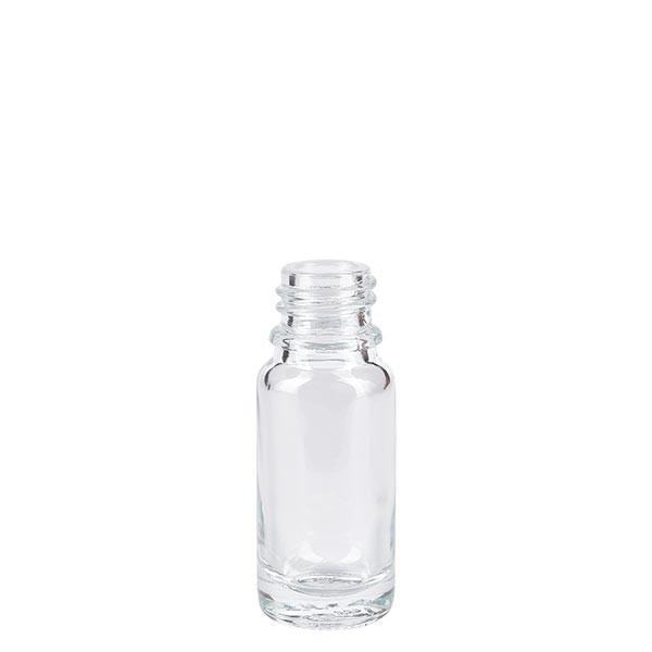 Helder glazen fles 10ml