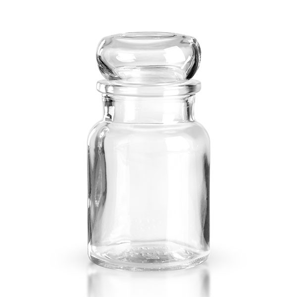 150 ml glazen pot incl. glazen stop