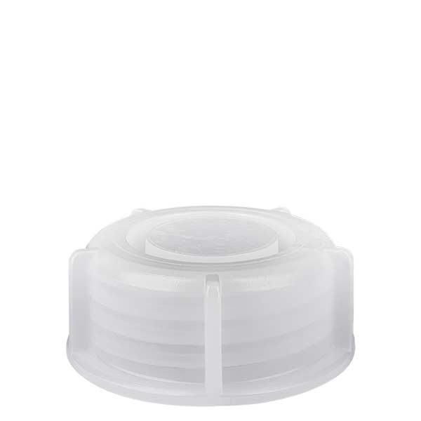 Schroefsluiting voor 250ml en 500ml laboratoriumfles met nauwe hals