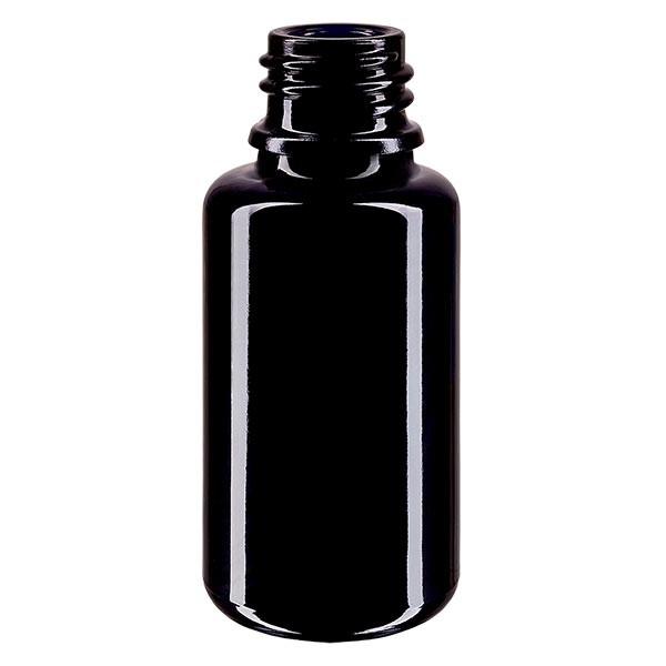 Violetglas fles 20ml DIN 18 (Mironglas)