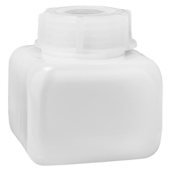 Chemicaliënfles 250 ml, wijde hals, incl. sluiting GL 50