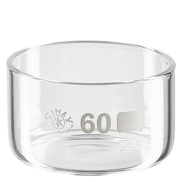Kristallisierschale 60ml ohne Ausguss