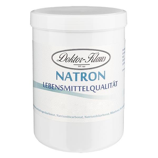 Doktor-Klaus Natron, 1000g in witte pot, levensmiddelenkwaliteit